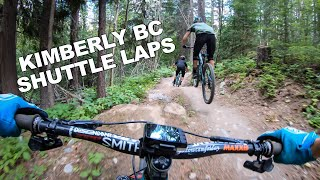 Downhill Shuttle Laps | Kimberly BC