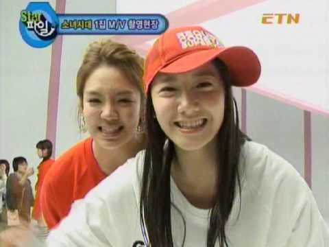 SNSD - Girls' Generation MV Behind the scenes 1/2 Nov.2007 720p HD