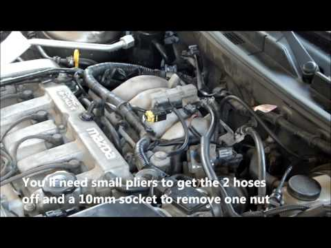 Mazda Engine Light -Trouble codes  - Quick Test & Fix