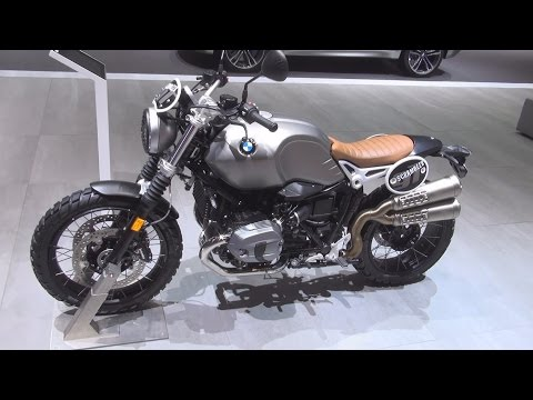 BMW Motorrad R nineT Scrambler ABS (2016) Exterior and Interior in 3D