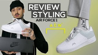 A COLD WALL AIR FORCE 1 | HOW TO STYLE AF1