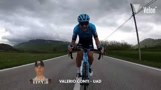 Giro d'Italia 2021: Stage 9 On-Bike Highlights