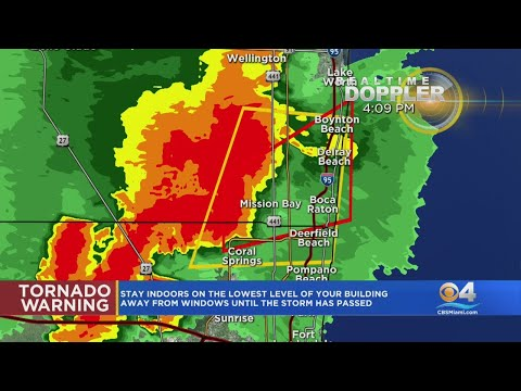 WEATHER ALERT - Tornado Warning and Severe Thunderstorm Warning