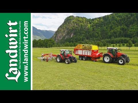 Video: Die richtige Einstellung von Heugeräten und Ladewagen