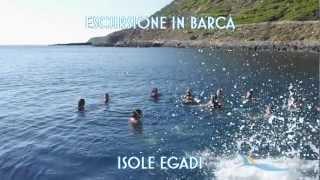Escursione in barca isole egadi: favignana e levanzo