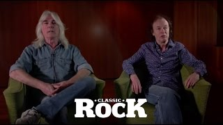 AC/DC's Angus Young and Cliff Williams | Classic Rock Magazine