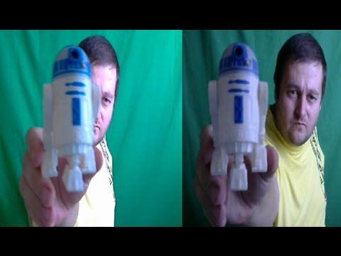 STAR WARS 3D . THE BEST 3D VIDEO ! ( side-by-side )