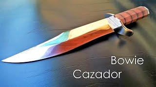Fabricación de cuchillo Bowie cazador