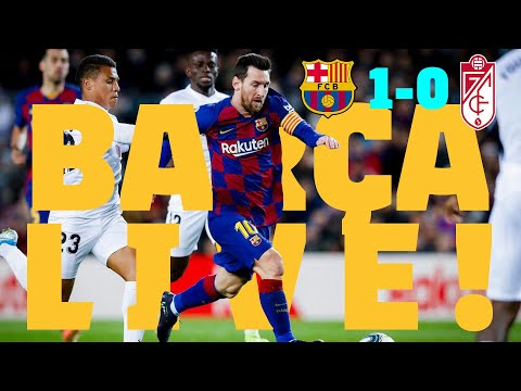⚽ Barça 1 - 0 Granada | BARÇA LIVE: Warm Up & Match Center #BarçaGranada