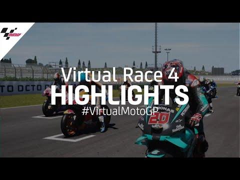 Virtual Race 4 Highlights - #VirtualMotoGP