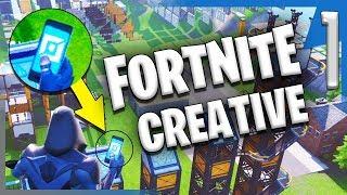 CREATIVE MODE?! IN FORTNITE?!?   Fortnite Creative Mode Gameplay/Let's Play E1