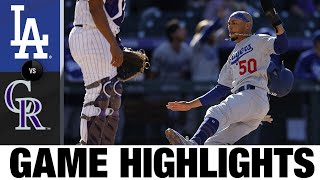 Rockies vs. Dodgers Game Highlights (4/1/21) | MLB Highlights
