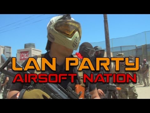 MAN Party: 2000 Player Airsoft War (World Record) - Smashpipe Games