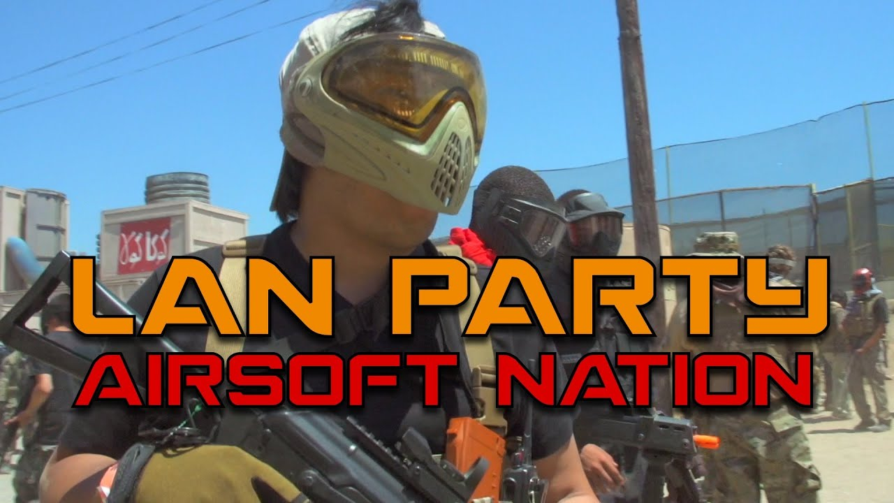 MAN Party: 2000 Player Airsoft War (World Record) - Smashpipe Games Video