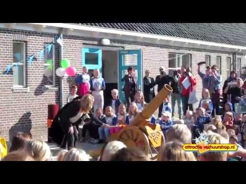 Opening Pater Jan Smitschool | Attractie Verhuurshop.nl