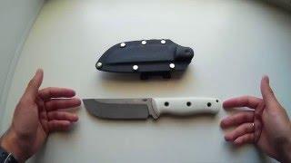 Впечатления от ножа WK-9, сделанного на заказ.