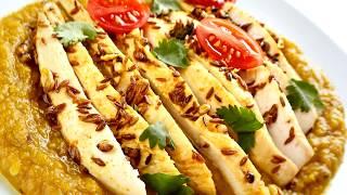 Mulligatawny Lentils & Coriander Chicken