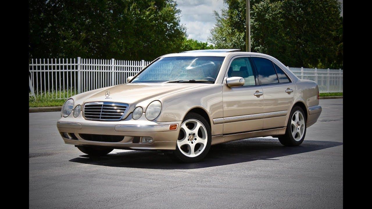 2000 Mercedes-Benz E320 W210 Start Up, Review, & Test Drive