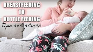 BREASTFEEDING TO BOTTLE FEEDING   FED IS BEST    Sarah-Jayne Fragola