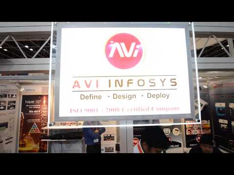AVI INFOSYS @ INTERSEC EXPO 2014 DUBAI, UAE