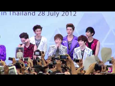 EXO's Mini Live in Thailand Part 1