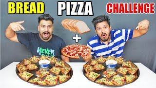 BREAD PIZZA CHALLENGE | BREAD PIZZA EATING COMPETITION |Food Challenge India(Ep-78)