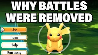 NEW INFO! Why Wild Pokemon Battles Were REMOVED In Pokemon Let's Go