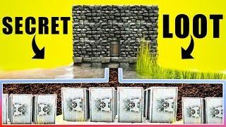 Raiding a Hidden Underground Loot Room with a Stunning Surprise! | Ark Survival Evolved Raids