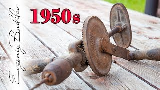 I found a 1950 drill and I have done that with it!