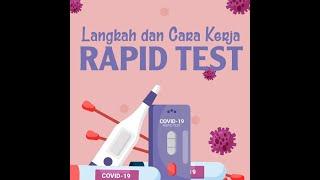 Langkah dan Cara Kerja Rapid Test