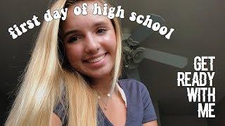 GRWM: First Day of High School + Vlog