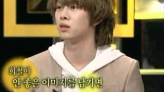 Super Junior - Tear drops of Lee Teuk,  and Heechul