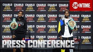 Charlo vs. Rosario/Charlo vs. Derevyanchenko: Press Conference | SHOWTIME BOXING PPV