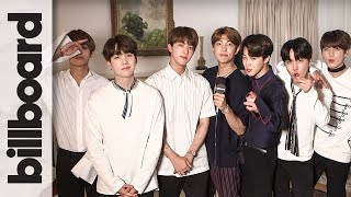 BTS Full Interview: Dance Lesson, Impersonations, Billboard Music Awards Win & More!