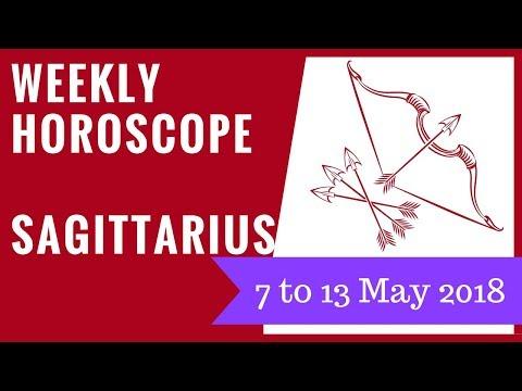 Sagittarius weekly horoscope 7 to 13 May 2018