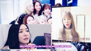 SNSD Message to Tiffany Young in America (ENG SUB) Girls' Generation