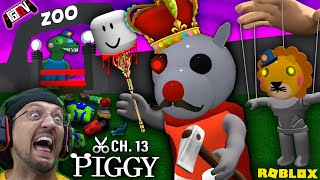 PIGGY CHAPTER 13: The Zoo? (FGTeeV Custom Character Showcase Mod w/ PUPPET BOSS #2)