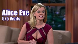 Alice Eve - Talks Kierkegaard, Noel Coward & Baudelair - 5/5 Visits In Chronological Order