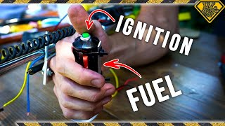 Custom Flame Thrower Ignition Switch