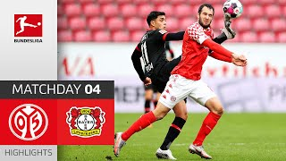 1. FSV Mainz 05 - Bayer 04 Leverkusen | 0-1 | Highlights | Matchday 4 – Bundesliga 2020/21
