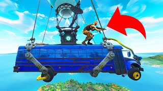 HIDING On TOP Of The Battle Bus! (Fortnite Hide and Seek)