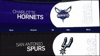 San Antonio Spurs vs Charlotte Hornets Game Recap   1/14/19   NBA
