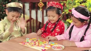 """Quảng cáo phô mai Con Bò Cười Tết 2014 - Trò chơi """"Đua Xuân"""""""