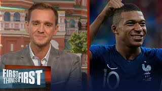 Stu Holden previews France vs. Croatia in FIFA World Cup™ Final | SOCCER | FIRST THINGS FIRST