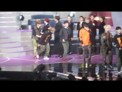 161202 EXO REACTION to NCT 127 Best New Male Artist