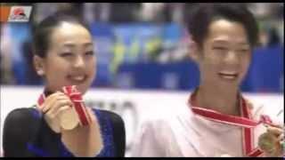 NHK杯女子シングル 浅田真央が自己最高点で優勝 演技とインタビュー mao asada グランプリファイナル 2013 11自己ベスト演技 フィギュアスケート