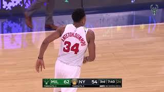 Greek Freak Drops 30 On Knicks On Christmas Day!