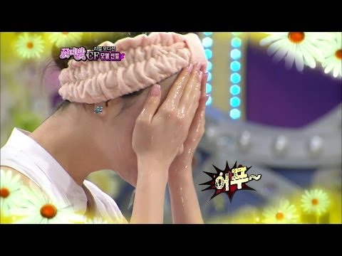 【TVPP】Yura(Girl's Day) - Wash her face, 유라(걸스데이) - 세수하는 유라 @ Flower