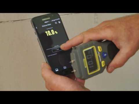 ToolSmart Moisture Meter video illustrates proper use and documentation