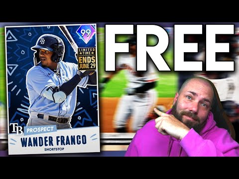 GET A FREE LIMITED TIME 99 OVERALL WANDER FRANCO! [MLB THE SHOW 21]